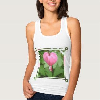 Bleeding Heart Flowers T Shirt