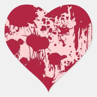 Bleeding Heart Heart Sticker