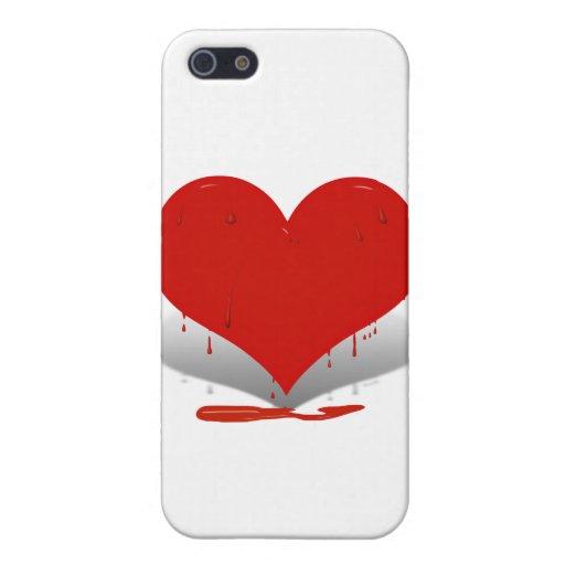 Bleeding Heart iPhone 5 Cases