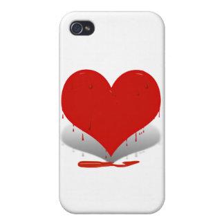 Bleeding Heart iPhone 4/4S Cases