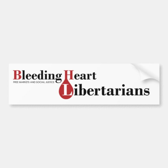 Bleeding Heart Libertarians Bumper Sticker