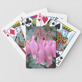 Bleeding Heart Pink Close Bicycle Card Deck