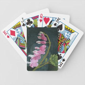 Bleeding Heart Playing Cards