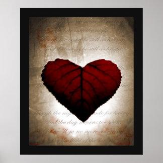 Bleeding Heart Poster