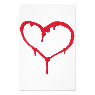 Bleeding Heart Stationery