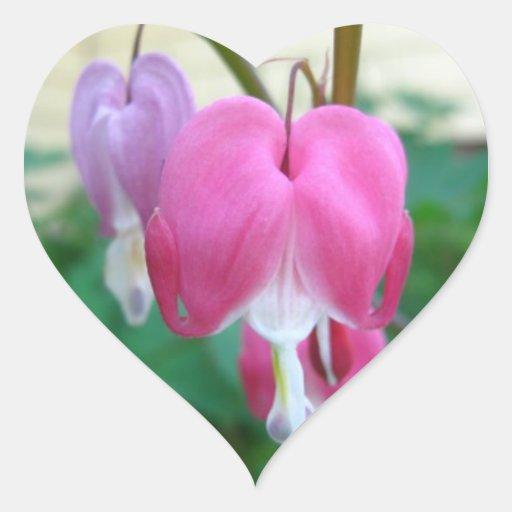 Bleeding Heart Heart Stickers
