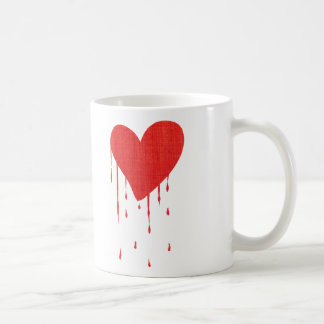 Bleeding Heart (white) Basic White Mug
