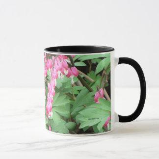 Bleeding Hearts Bouquet Mug