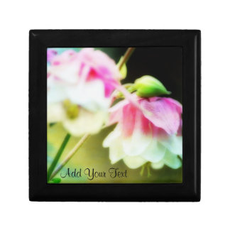 Bleeding Hearts by Shirley Taylor Small Square Gift Box