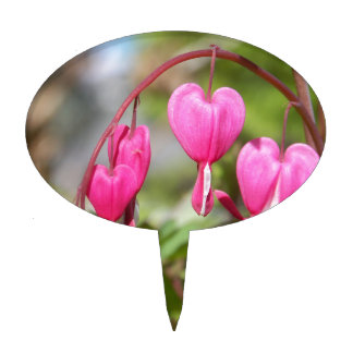 Bleeding Hearts Cake Toppers