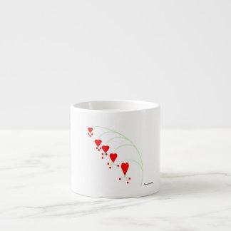 Bleeding Hearts Espresso Mug