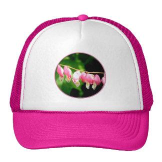 Bleeding Hearts flower Hats
