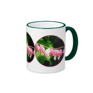 Bleeding Hearts flower Coffee Mugs