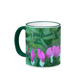 Bleeding Hearts Flower Mug 11 oz