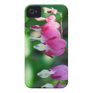 bleeding hearts flowers Case-Mate iPhone 4 case