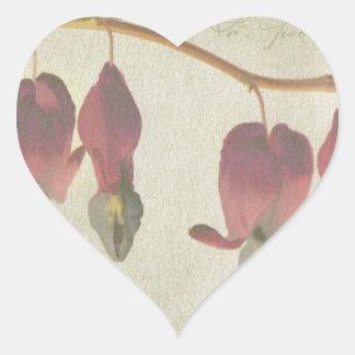 Bleeding Hearts Heart Sticker