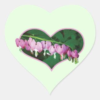 Bleeding Hearts in Heart Heart Sticker