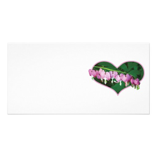 Bleeding Hearts in Heart Picture Card