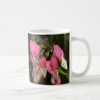 Bleeding Hearts in the Garden Basic White Mug