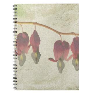 Bleeding Hearts Note Book