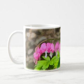 Bleeding Hearts Panoramic Basic White Mug