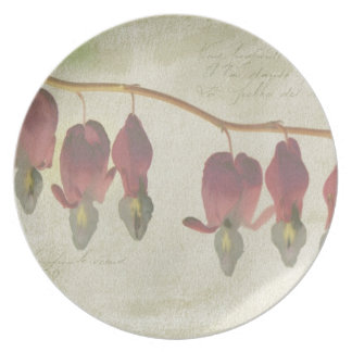 Bleeding Hearts Party Plate