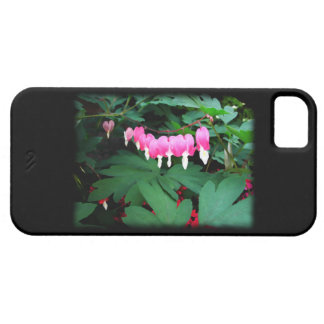 Bleeding Hearts. Pink Flowers. Case For The iPhone 5