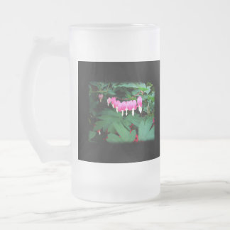 Bleeding Hearts. Pink Flowers. Coffee Mugs