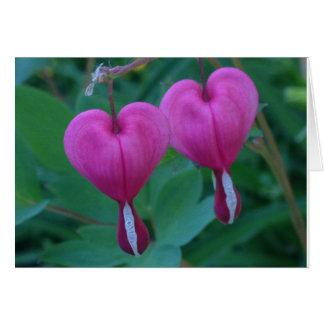 Bleeding Hearts Plant Card