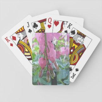 Bleeding Hearts - Playing Cards - jjhelene design