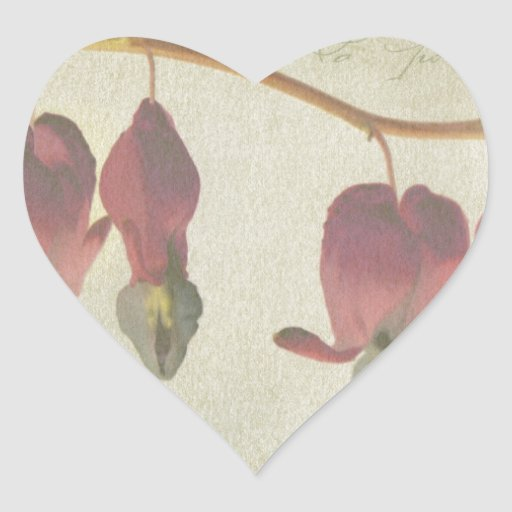 Bleeding Hearts Heart Stickers
