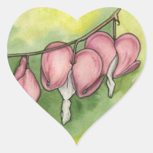 Bleeding Hearts Stickers