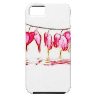 Bleeding Hearts Tough iPhone 5 Case
