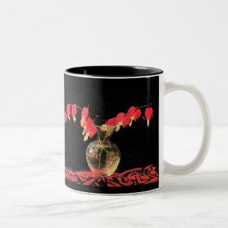 Bleeding Hearts Two-Tone Mug