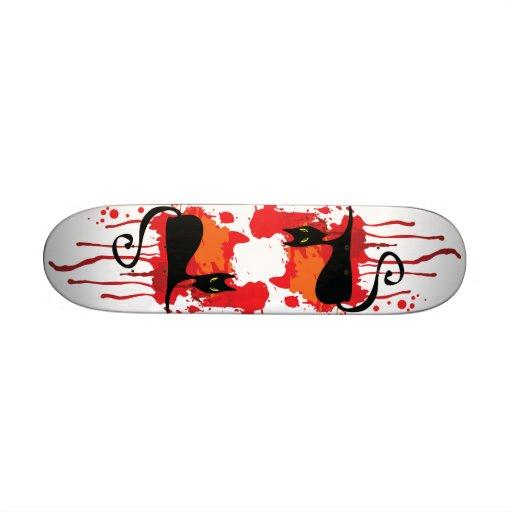 Bleeding Kitty Deck Skateboard Decks