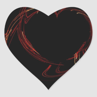 Bleeding Love Heart Sticker