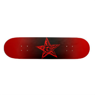 Bleeding Pentagram Board Skate Board