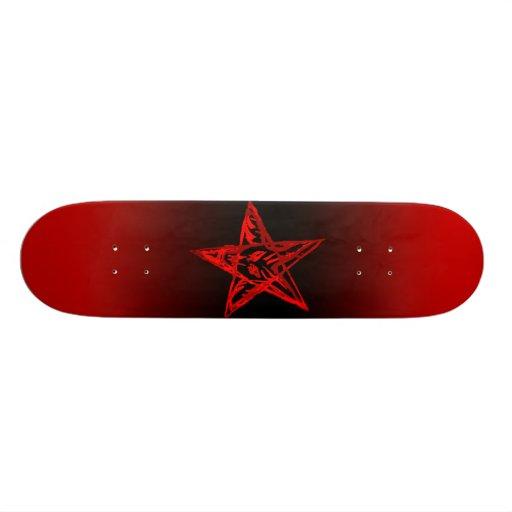 Bleeding Pentagram Board Skate Board Deck