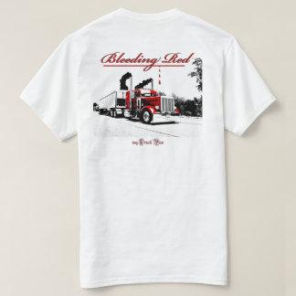 Bleeding Red (logo front) T-Shirt