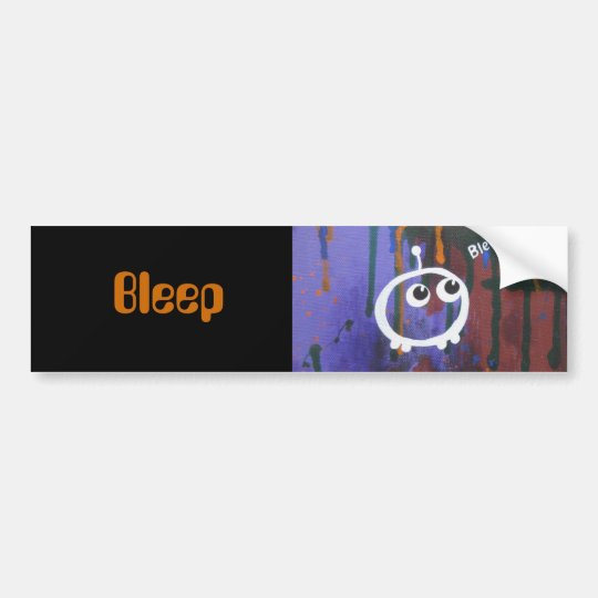 , Bleep bumper sticker
