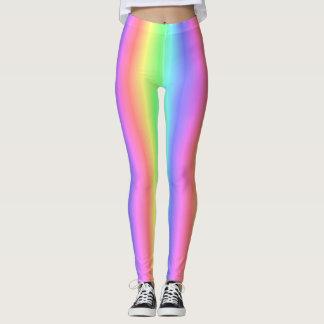 Blended Pastel Rainbow - Color Spectrum Leggings