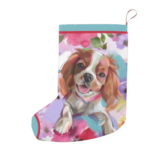 Blenheim Cavalier Christmas Stocking | Ornament