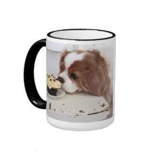 Blenheim Cavalier King Charles Spaniel Friday Mugs