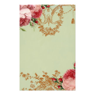 Blenheim Rose- Elegant Sage Green - Personal Stationery