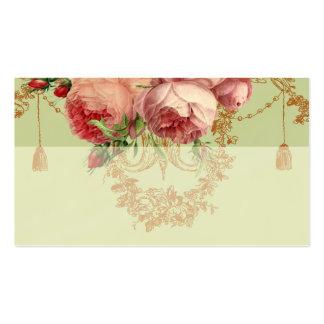 Blenheim Rose- Elegant Sage Green - Place card Business Card Template