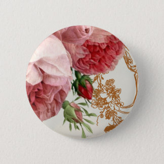 Blenheim Rose - Summer Sky 6 Cm Round Badge