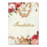 Blenheim Rose - Summer Sky 5x7 Paper Invitation Card