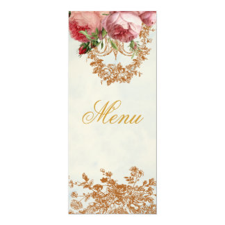 Blenheim Rose - Summer Sky - Menu Card