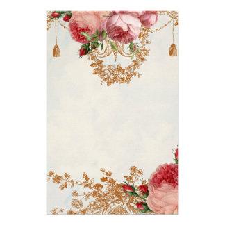 Blenheim Rose- Summer Sky  - Personal Stationery Paper
