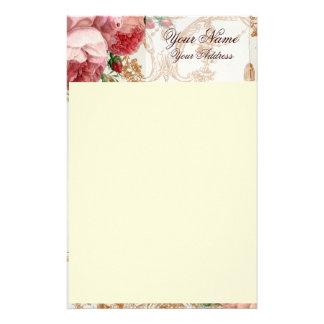Blenheim Rose - Summer Sky - Personalised Stationery